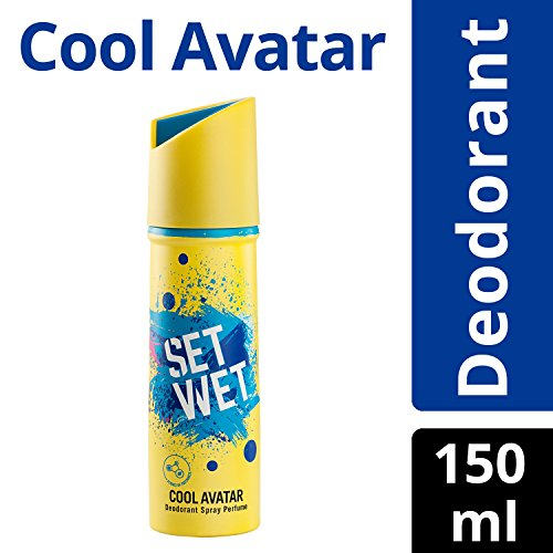 Set Wet Cool Avatar Deodorant Spray Perfume, 150ml