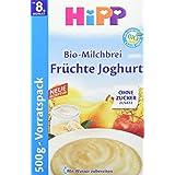 Hipp Bio-Milchbrei Früchte Joghurt, 4er Pack (4 x 500 g)