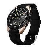 Kivors G5 Reloj Inteligente Bluetooth 4,0 con Monitor de Frecuencia Cardíaca Fitness Tracker...