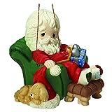 Precious Moments, Weihnachten Geschenke, und zu Allen Ein goodnnight, 8. in einjährig Santa Serie, Porzellan Ornament, 161031