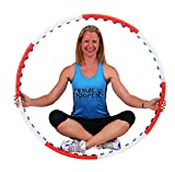 ResultSport® Anion Massage Weighted 0.75kg (1.65lbs) Fitness Exercise Hula Hoop 105cm wide