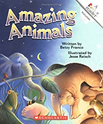 Amazing Animals (Rookie Readers: Level C) by Betsy Franco (2002-09-01)