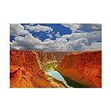 The Art Stop Impresión artística marcada de la Marca Water River Canyon Arizona USA, Imagen y Montura F12X1918, Papel para Bellas Artes/Papel, sin Marco, 12-Inches x 16-Inches