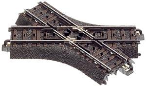 Märklin 24649 - Vía de tren para maquetas, intersección (103,3 mm / 48,6 °) importado de Alemania