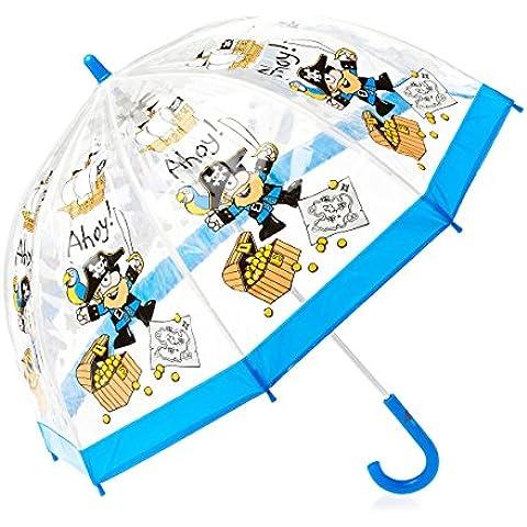 Bugzz Paraguas Transparente de PVC