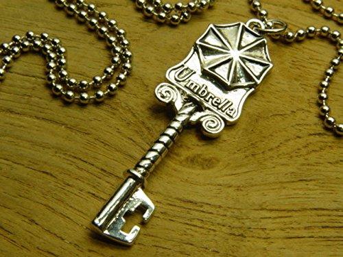 Resident Evil Biohazard Mansion-Schlüssel Halskette Leon Chris Wesker PS4 Kostüm Cosplay