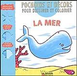 Image de La mer : Pochoirs et décors pour dessiner et colorier