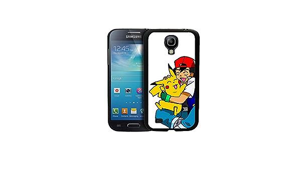 Pokemon Pikachu And Ash Galaxy S4 Mini Coque Case Durable Game ...