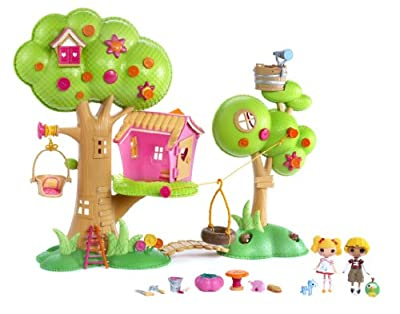 Lala Loopsy mini Casa del Árbol Playset por MGA Entertainment/Mini Lalaloopsy(TM)
