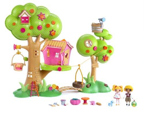 Imagen 1 de Zapf Creation 506775E4C - Mini Lalaloopsy, Casa del árbol (plástico)