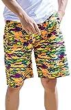 La Vogue Maillot De Bain Short Bermuda Pantalon Courte Sport Plage Homme Multicolore Size2