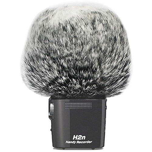 Micrófono Wind Cover Mic Windscreen para Zoom H2N / H4N (gris oscuro)