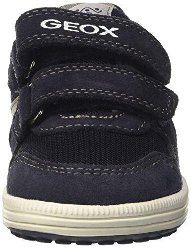 Geox Jungen Jr Vita A Low-Top Blau (Navy/Greyc0661)