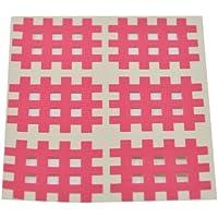 Kinesiologie Gittertape 3,6 cm x 2,8 cm 20 Bögen in Pink, Cross Patches, Cross Tape preisvergleich bei billige-tabletten.eu