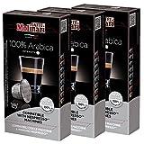 Caffè Molinari Espresso Kapseln 100 % ARABICA, geeignet für Nespresso-Maschinen, 3 x 10 Stück, 150 g