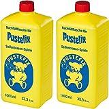 PUSTEFIX Seifenblasen Set (2 x Nachfüllflasche)