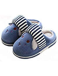 Bimba Bambino Pantofole Inverno Bambina Scarpe Caldo Sveglia Molle della Pantofole  Peluche del Fumetto Slippers 1 78a954ec1ba