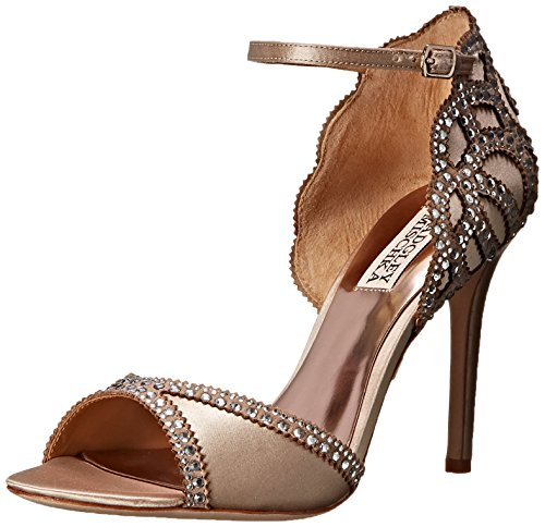 Badgley Mischka Damen Roxy Sandalen, Nude, 36.5 EU Badgley Mischka Bridal
