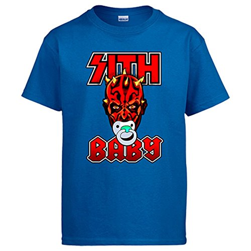 Camiseta Star Wars Baby Darth Maul - Azul, 12-14 años
