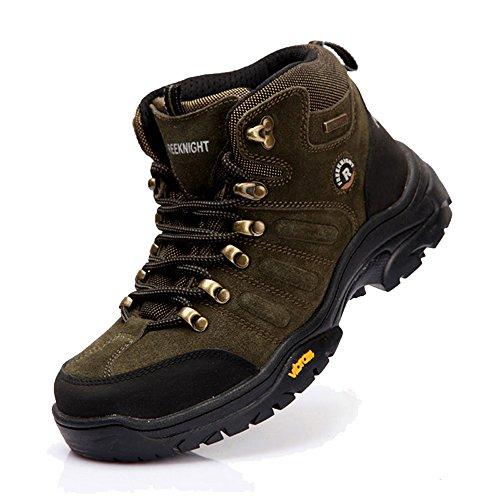Up Trail Armeegr眉n Wildleder Trekking Footwear Sport Lace emansmoer Schuhe Fleecefutter Outdoor Wandern Herren Wasserdicht OpxZqXv