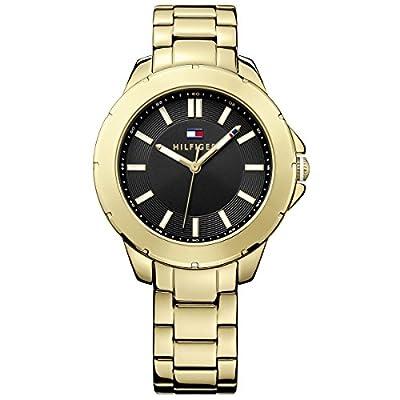 Tommy Hilfiger 1781434 - Reloj para Mujeres, Correa de Acero Inoxidable Color Dorado de Tommy Hilfiger