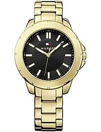 Tommy Hilfiger 1781434 - Reloj para mujeres, correa de acero inoxidable color dorado