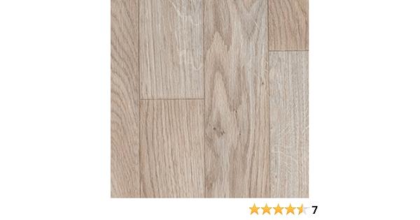 verschiedene L/ängen Variante: 6,5 x 3 m BODENMEISTER BM70555 PVC CV Vinyl Bodenbelag Auslegware Holzoptik Schiffsboden Eiche wei/ß 200 300 und 400 cm breit
