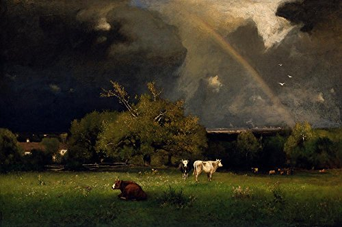 Das Museum Outlet-George Inness-The Rainbow-Poster Print Online kaufen (61x 81,3cm)