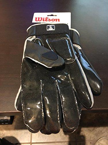 Wilson MVP Tacktech Lineman American Football Handschuhe - schwarz Gr. XL