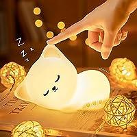 Veilleuse Enfant,Veilleuse Bébé,Veilleuse Bebe Enfant Rechargeable Chat,Veilleuse Bébé LED Portable Fille Adulte,Lampe…
