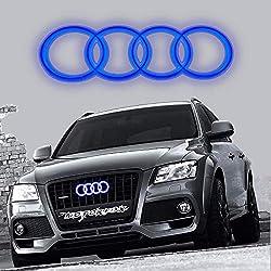 PREMIUM Schlüssel Cover Gehäuse Weiß Lack für Audi A3 A4 A5 A6 A7 A8 Q5 Q7 TT