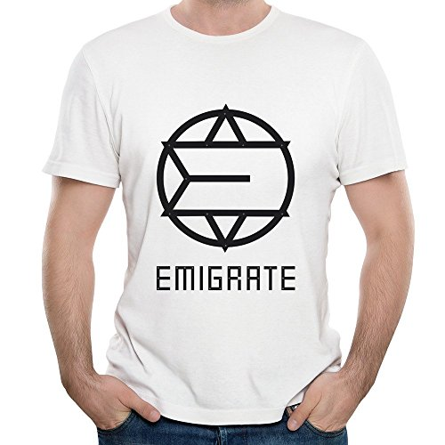 FIVE Miumine Emigrate Surgical Steel Unique Men's Short-Sleeved Tshirts