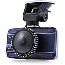 Cebbay Cámara DVR HD para Coche Registrador del Sensor de la Leva G de 1080P Pantalla