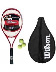 Wilson Grand Slam XL Azul adulto/juventud raqueta Tenis + 3 pelotas 50 L3