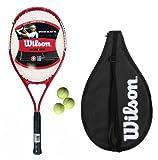 Wilson Grand Slam XL Adult/Youth Tennis Racket + 3 Tennis Balls RRP £50