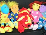 TWEENIES COMPLETE SET-BELLA, MILO, FIZZ, JAKE & DOODLES