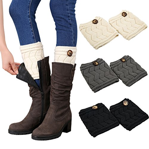 esenfa-warm-knitting-leg-warmers-boot-toppers-boot-cuffs-for-women-3-pairs-pack-b