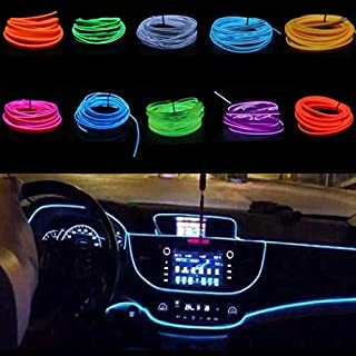 Yukio Baumarkt-1/3 Meter Ambientebeleuchtung 24v EL Wire Auto Licht Dekoration LED Stripes Innenraumbeleuchtung Lichtschlauch LED Streifen
