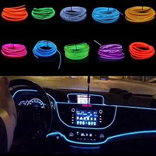 Yukio Baumarkt-1/3 Meter Ambientebeleuchtung 16v EL Wire Auto Licht Dekoration LED Stripes Innenraumbeleuchtung Lichtschlauch LED Streifen