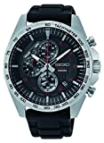 Best Seiko Watches - Seiko Mens Chronograph Quartz Watch with Silicone Strap Review