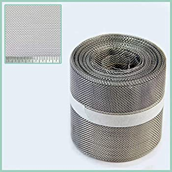 Black PVC Insect Mesh for Roof Fascias and Soffits 400mm x 30m roll