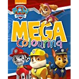 Nickelodeon PAW Patrol Mega Colouring