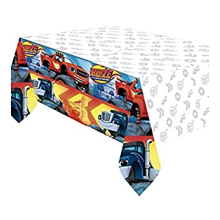 Blaze und die Monster Machines-Tischdecke aus Kunststoff (Amscan 9901356)