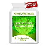 Gert Naturals, Apple Cider Vinegar Diet, 500mg, 120 Capsules from Gert Naturals