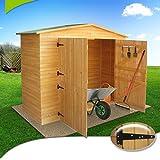 XXL Gerätehaus Geräteschuppen Geräteschrank Holz Bitumendach -