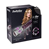 بيبي ليس فرشاة الشعر الدوارة بالأيونات مع ٤ ملحقات و حقيبة ١٠٠٠ وات -  Babyliss 2736E