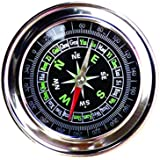 """IMPRINT Magnetic Compass Big Size ( Approx 3"""" Dia) Set Of 1"""
