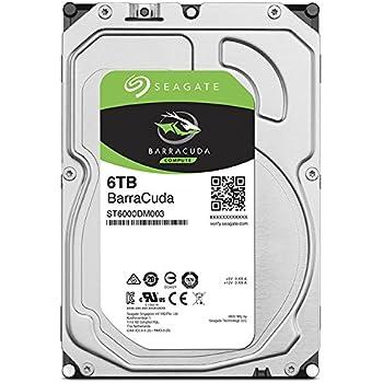 """Seagate Barracuda 6TB HDD 6000GB Serial ATA III internal hard drive - Internal Hard Drives (3.5"""", 6000 GB,  5400RPM, Serial ATA III, 256 MB, HDD)"""