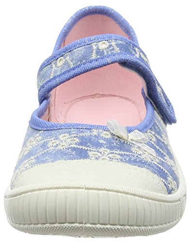 Superfit BELLA, Chaussons fille Bleu (denim Kombi 94)