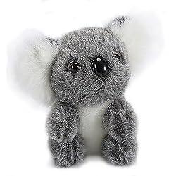 Lazada Gris Coala Felpa de Peluche Koala Juguetes de bebe Muñecas 5''